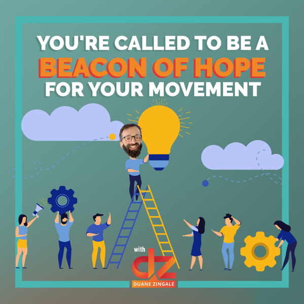 MYMS 34: You're Called to be a beacon of hope for your movement artwork