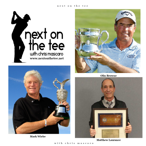 Major Champions Olin Browne & Mark Wiebe Plus BackSpin Golf Host Matthew Laurance Join Me... artwork