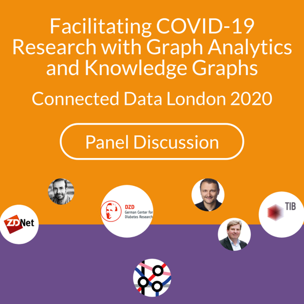 Facilitating COVID-19 research with Graph Analytics and Knowledge Graphs