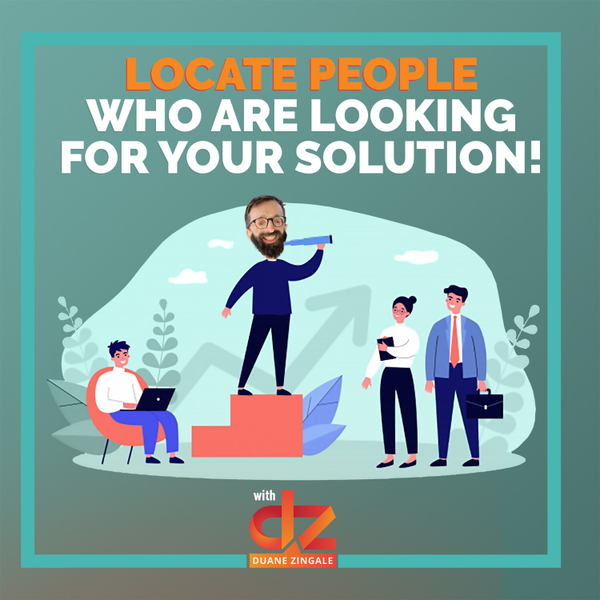 MYMS 62: Locate people who are looking for your solution! artwork
