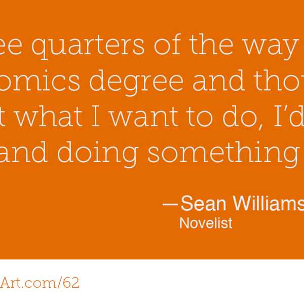 62 - What it takes to write over 40 novels with Sean Williams