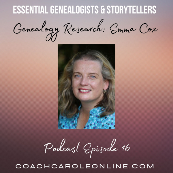 Genealogy Research: Interview with Emma Cox artwork