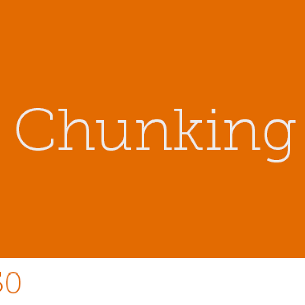 150 - Chunking artwork
