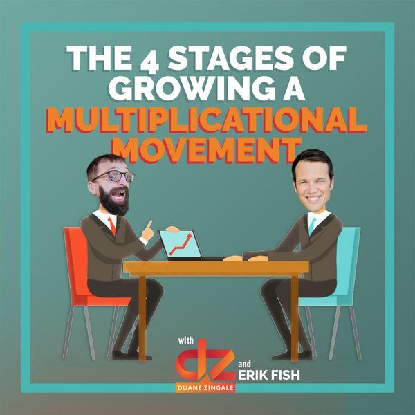 MYMS 40: The 4 stages of growing a multiplicational movement with Erik Fish artwork