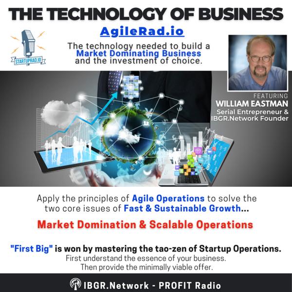 AGILERAD.IO: THE TECHNOLOGY OF BUSINESS artwork