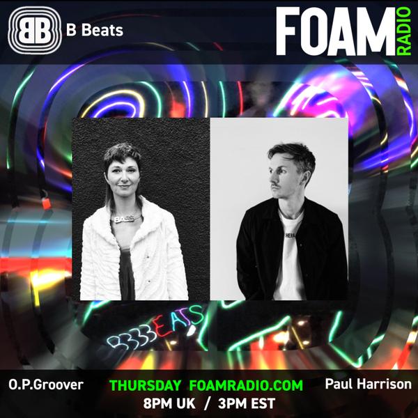 B BEATS - OPGroover + PaulHarrisonITK - deep house, deep tech artwork