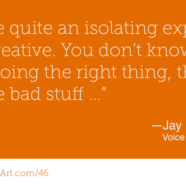 46 – Voice Acting with Jay Britton artwork
