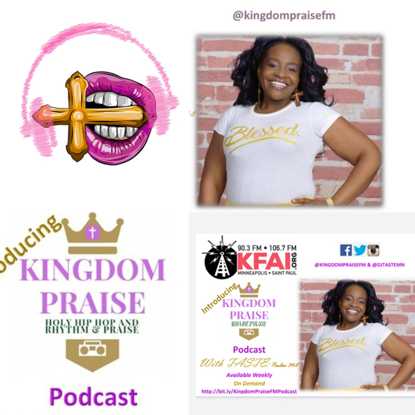 Kingdom Praise Holy Hip Hop, Gospel Rap and Rhythm & Praise Podcast artwork