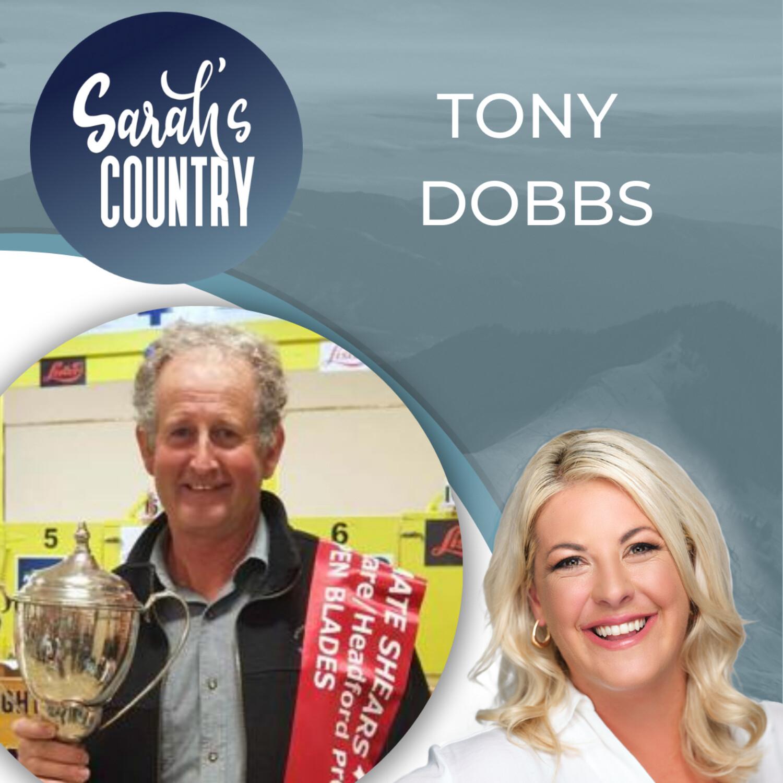 """""""Blade shearer hits a century"""" with Tony Dobbs"""
