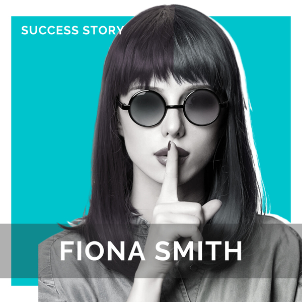Fiona Smith, Founder of Millennial Money Woman   How to Quit Your Job & Become a Millionaire artwork