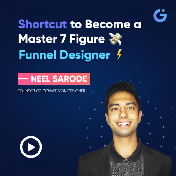Shortcut to Become a Master 7 Figure 💸 Funnel Designer ⚡ artwork
