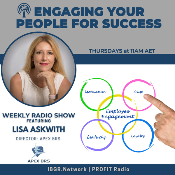 Engaging Your People for Success with Lisa Askwith artwork