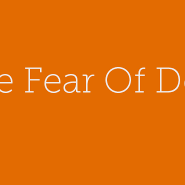 29 – The Fear Of Done artwork