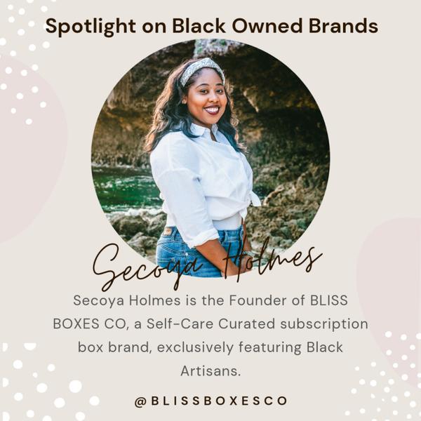 Spotlight on Black Owned Brands Bliss Boxes Co artwork