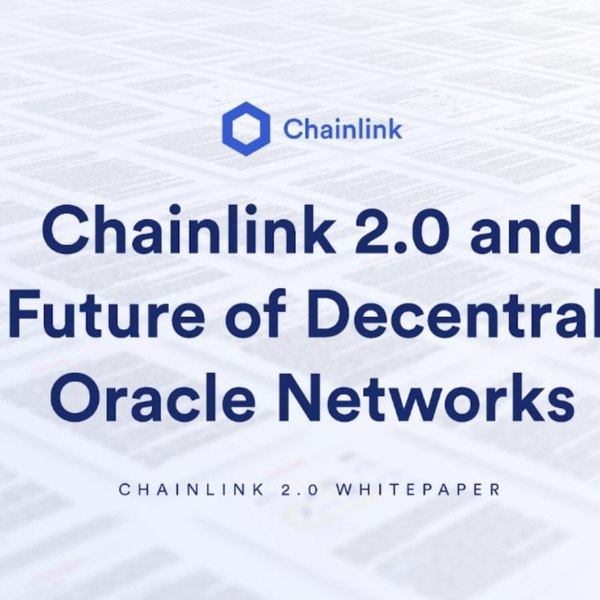 Chainlink 2.0 brings off-chain compute to blockchain oracles, promotes adoption of hybrid smart contracts. Featuring co-founder Sergey Nazarov artwork
