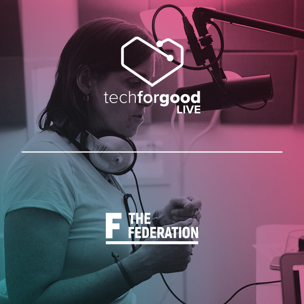 TFGL at The Federation Episode 2 - Modern slavery in Tech with Mary Mazzio artwork
