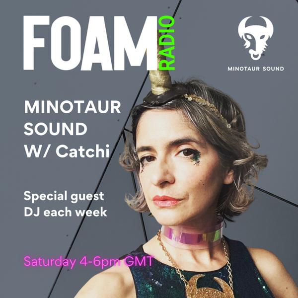 Minotaur Sound on FOAM RADIO artwork