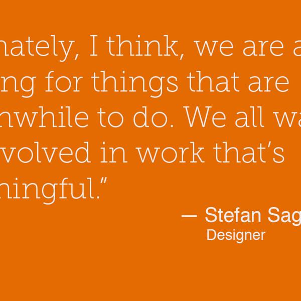 24 - Stefan Sagmeister