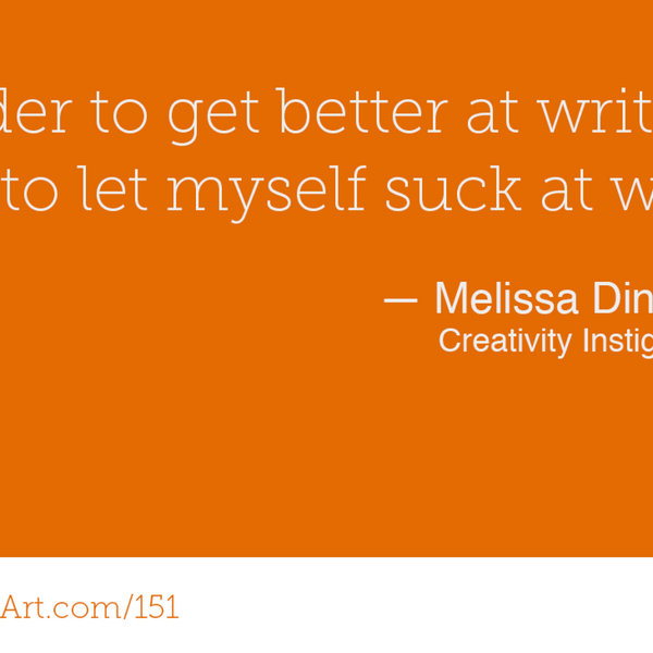 151 - Healing your relationship with creativity with Melissa Dinwiddie