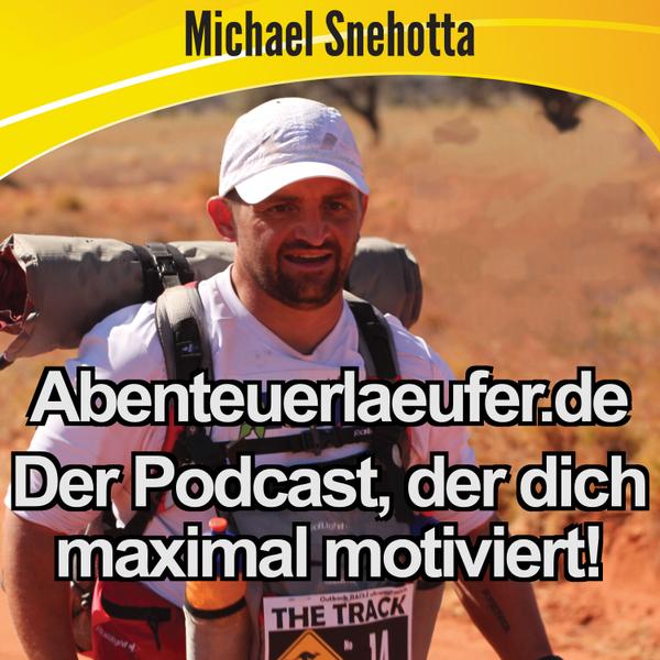 Abenteuerlaeufer.de mit Michael Snehotta artwork