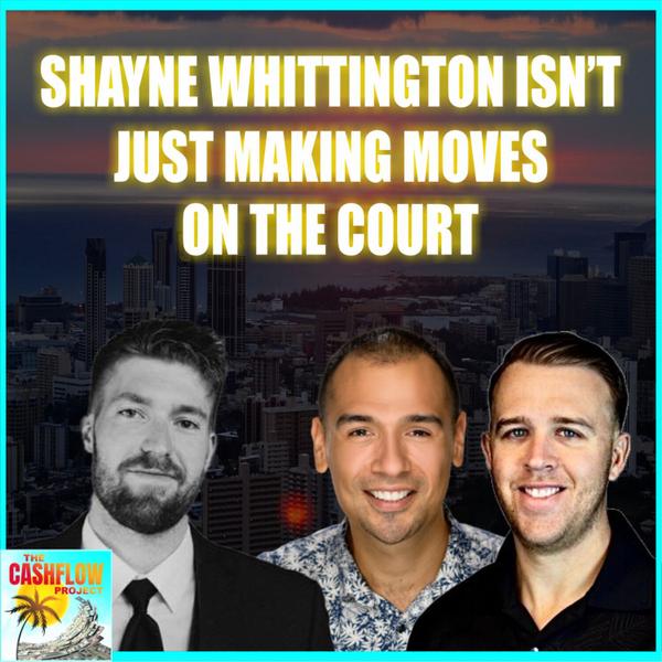 Shayne Whittington isn't just making moves on the court artwork