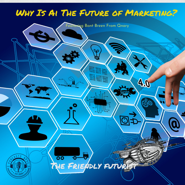 Why Is AI Considered The Future of Marketing? Interview with Bant Breen from Qnary artwork