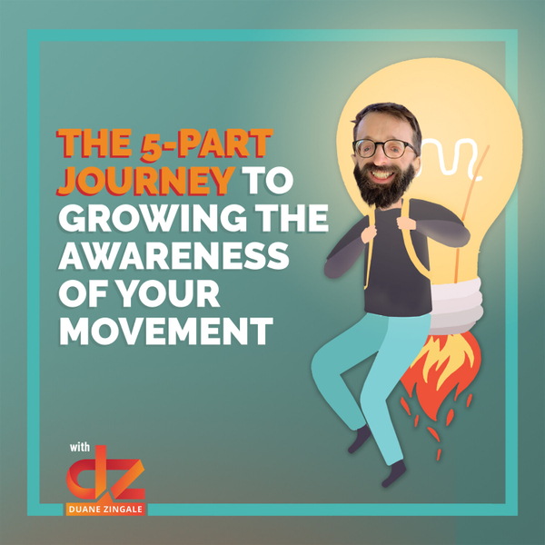 MYMS 37: The 5-part journey to growing the awareness of your movement artwork