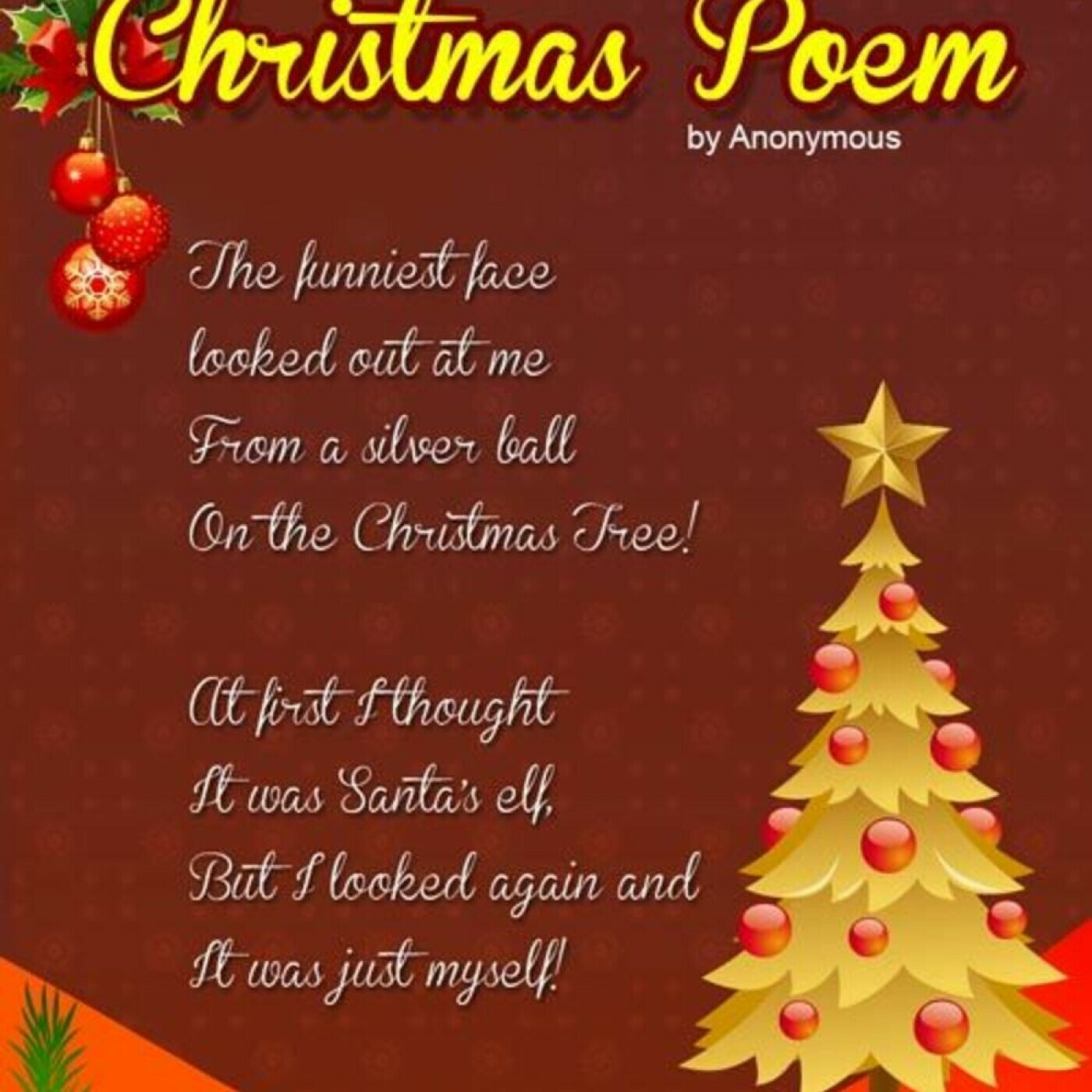 Christmas Eve Poem.Bad Christmas Poems 12 14 18 Podcast Co