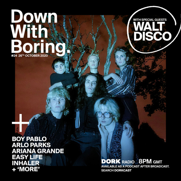 Down With Boring #0024: Walt Disco artwork
