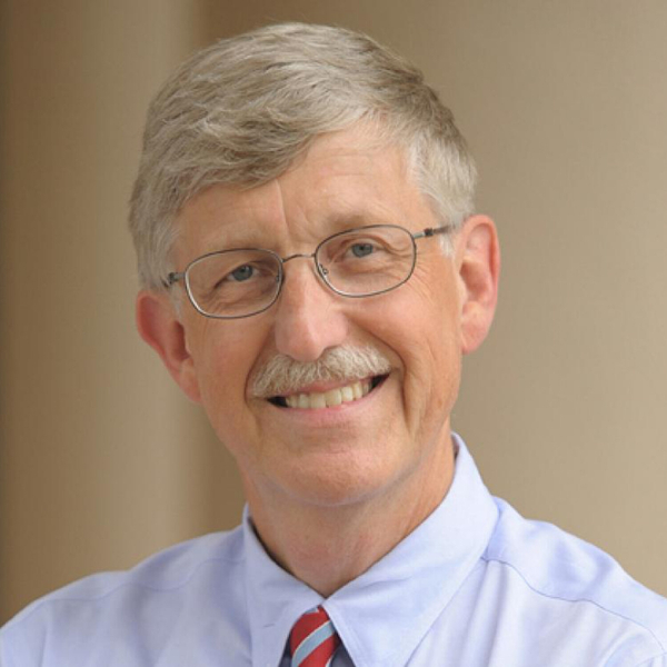 Dr. Francis Collins, Director of National Institutes of Health artwork