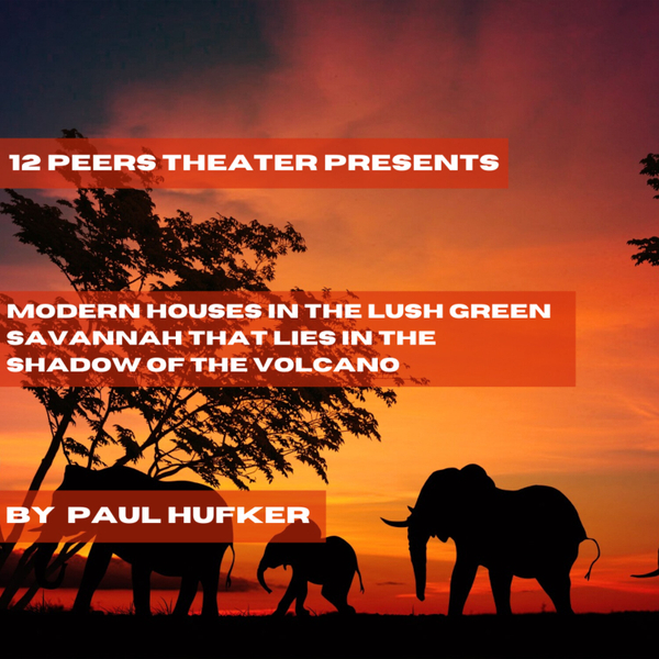Episode 24 - Modern Houses in the Lush Green Savannah that Lies in the Shadow of the Volcano by Paul Hufker artwork