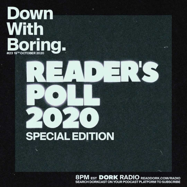 Down With Boring #0023: Reader's Poll 2020 Special artwork