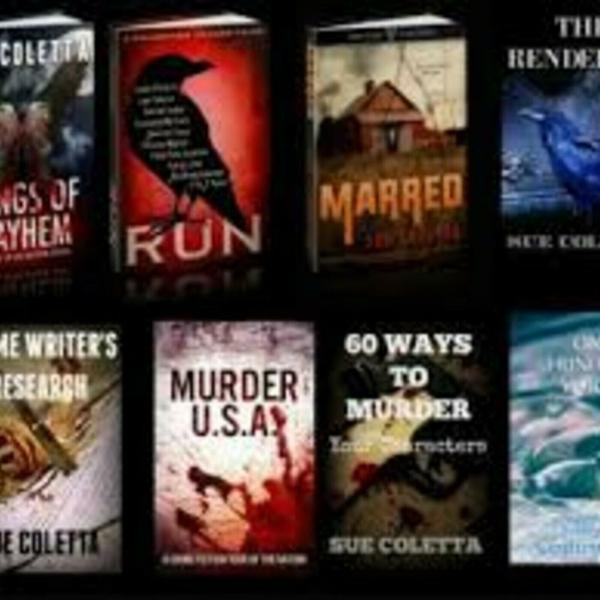 Author, Sue Coletta (12-12-18)