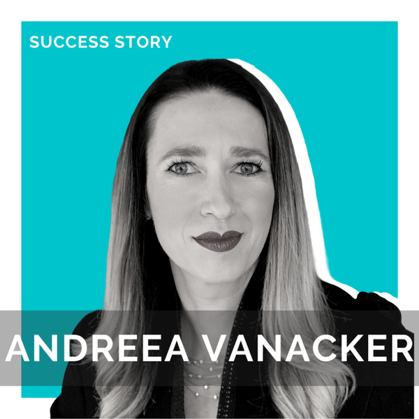 Andreea Vanacker, CEO at SPARX5   Transforming the Future of Work   SSP Interview artwork