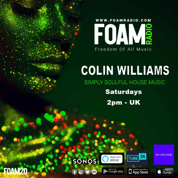 Colin Williams 50 Shades of Soulful House 26th March artwork