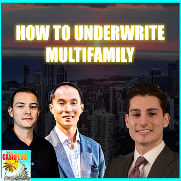 How to underwrite multifamily with Rob Beardsley artwork