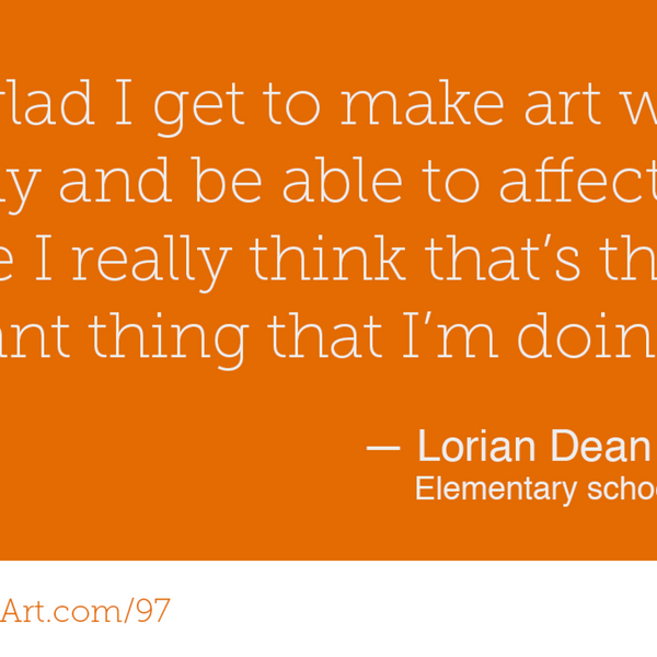 97 - Inspire yourself by inspiring others with Lorian Dean