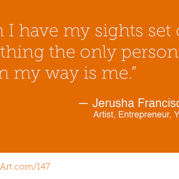 147 - Yoga and Art with Jerusha Francisco