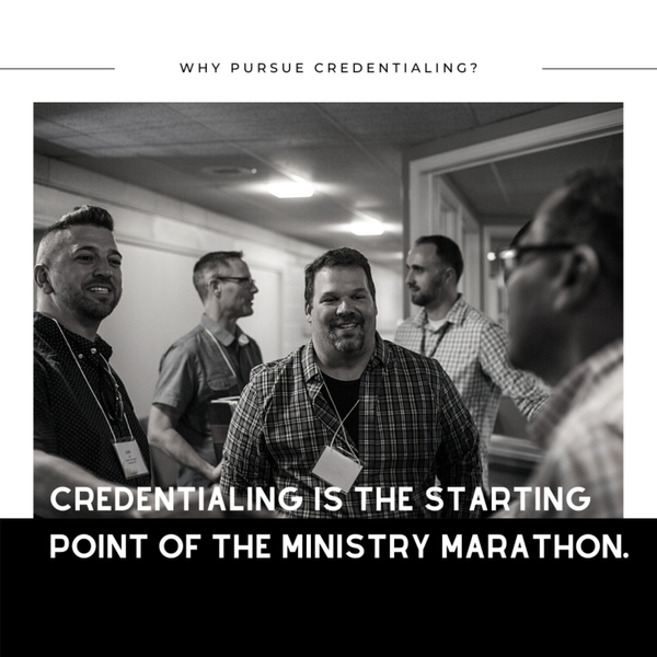 Credentialing Is The Starting Point Of The Ministry Marathon artwork