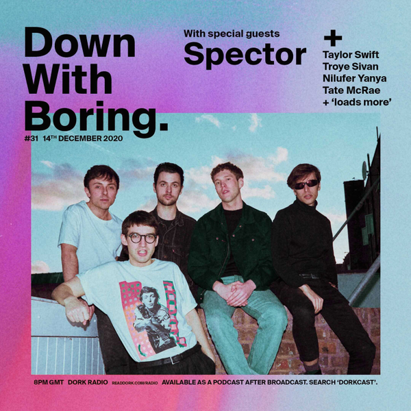 Down With Boring #0031: Spector artwork
