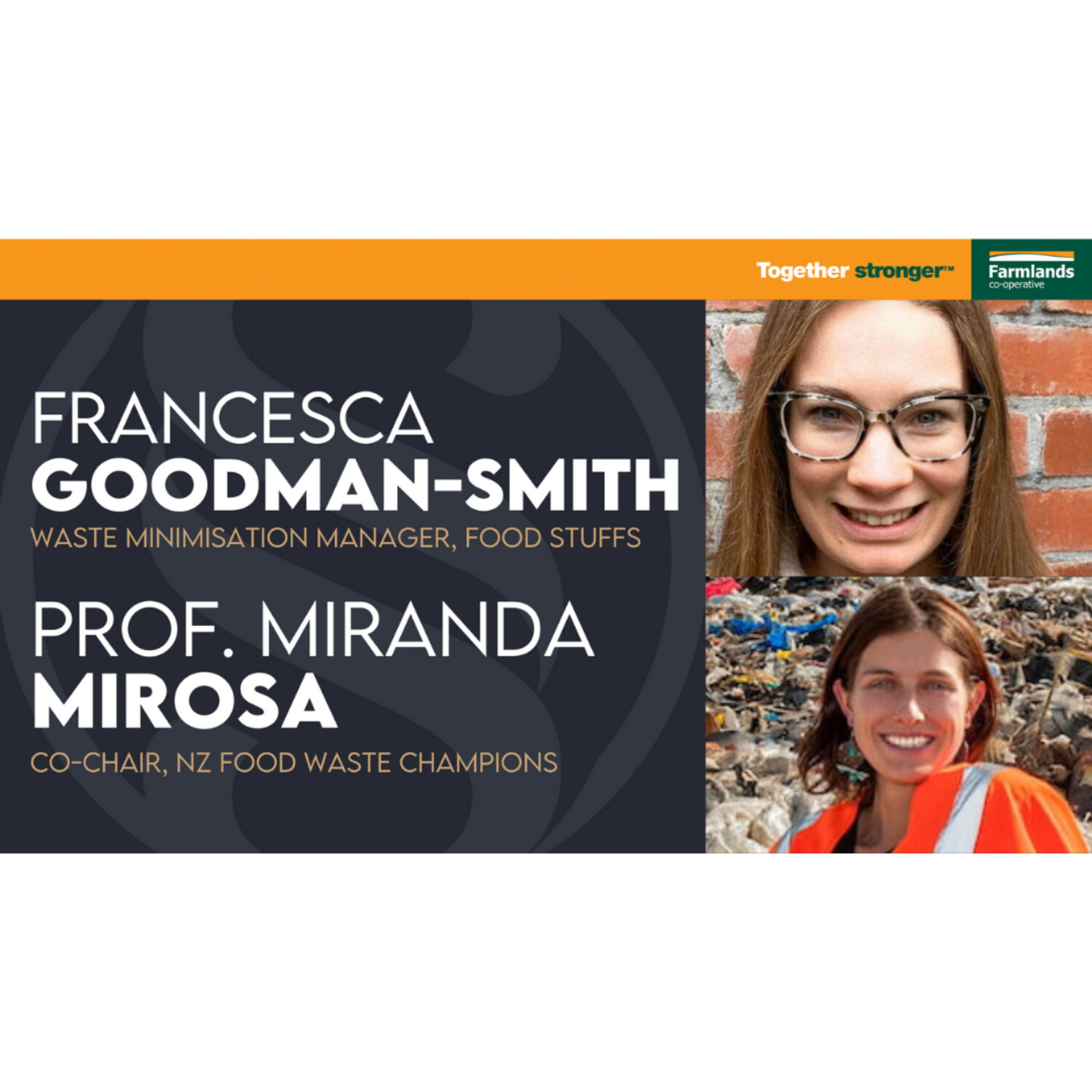 Upcycling food | Francesca Goodman-Smith & Prof. Miranda Mirosa