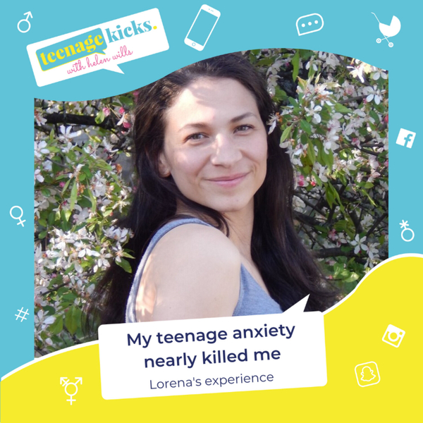 Teenage anxiety so bad it can kill, and how to avoid it, with Lorena Salazar artwork