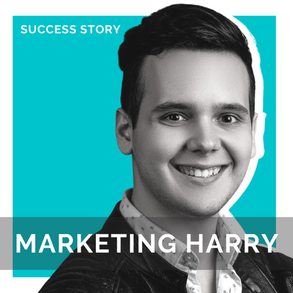 Marketing Harry, CEO of Brave Social Media   Growing Instagram From 0-125k Followers In One Year artwork
