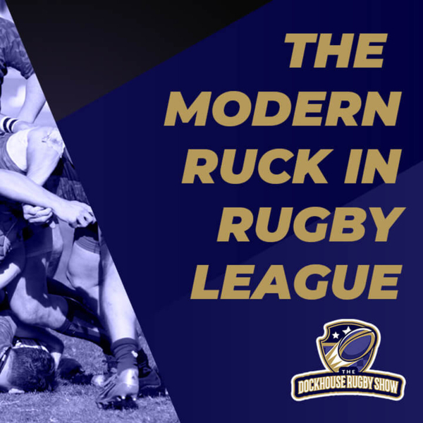 The Modern Ruck in Rugby League artwork
