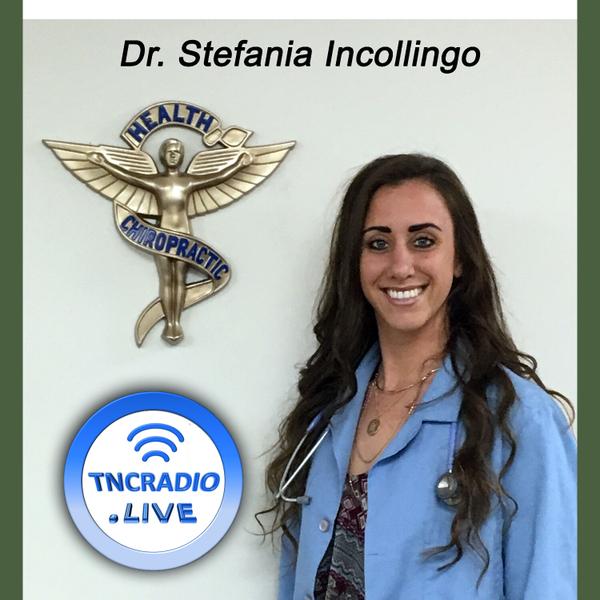 Truckers Network Radio Show  - Dr. Stefania Incollingo - Chiropractor - Nutritionist  artwork