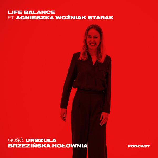 Ula Brzezińska-Hołownia. W samolocie jest totalna cisza   artwork