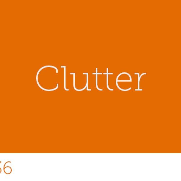 136 - Clutter artwork