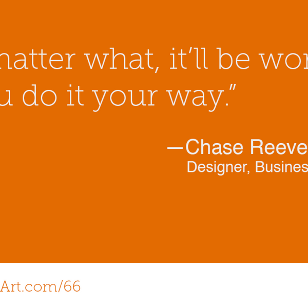 66 - Unashamedly being yourself with Chase Reeves