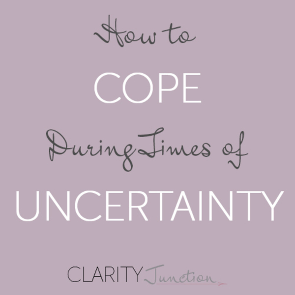 0026 - How to Cope During Times of Uncertainty artwork