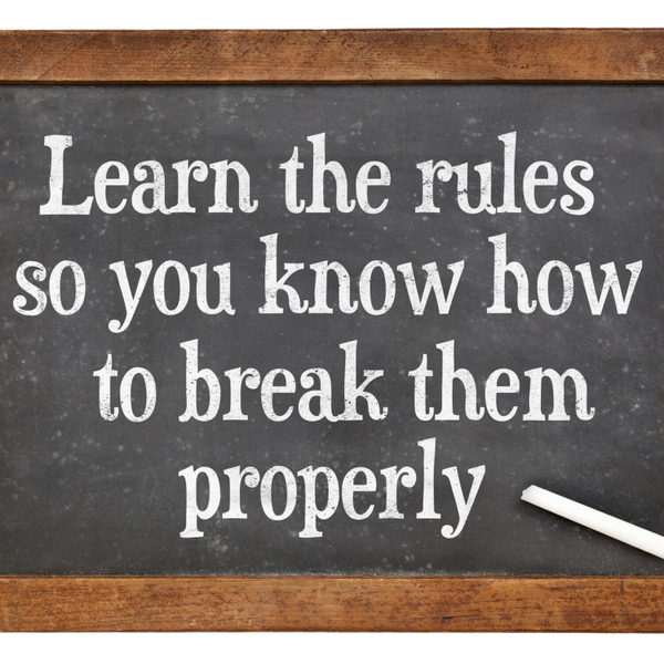 five Risks of Breaking the Rules artwork